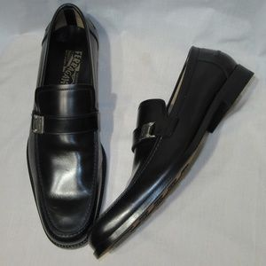 Salvatore Ferragamo Men's Leather Loafers sz 10.5